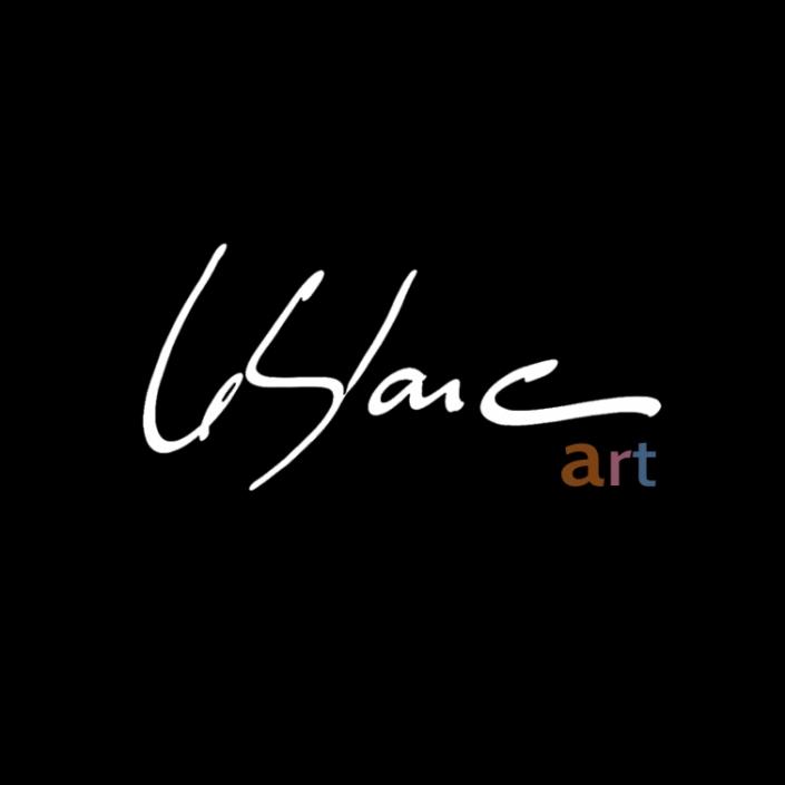Sylvain Leblanc, artiste peintre figuratif abstrait. Canton-de-l'Est, Québec, Canada. Signature « Leblanc Art »