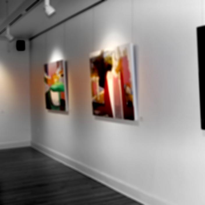 Sylvain Leblanc, artiste peintre figuratif abstrait. Canton-de-l'Est, Québec, Canada. Exposition Juin 2018 à l'Espace Boréart du Centre Culturel France-Arbour de Granby