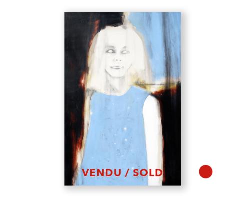 Sylvain Leblanc, artiste peintre Titre : Jamais trop loin- vendu